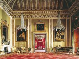 the, grand, staircase, at, buckingham, palace, интерьер, дворцы, музеи, англия, картина, дворец, люстра