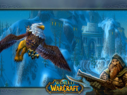 warcraft, видео, игры, world, of, грифон, замок, гном