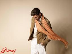 brioni, бренды, куртка, шарф