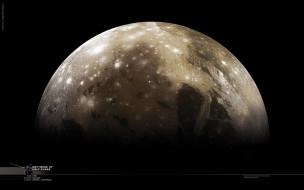 обои для рабочего стола 2560x1600 космос, юпитер, планета, тёмный, безконечность
