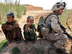 обои для рабочего стола 3351x2513 оружие, армия, спецназ, желтый, army, soldiers
