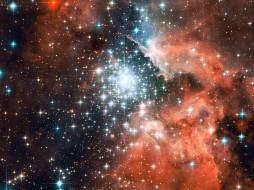 обои для рабочего стола 2560x1920 космос, арт, млечном, пути, в, звезд, рождение, новых