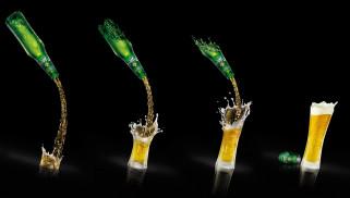 бренды, carlsberg, пиво, стаканы