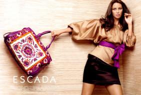 бренды, escada, яркая, сумка