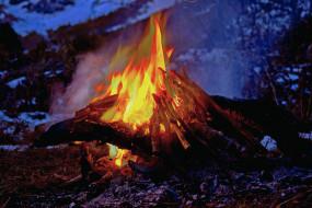 Огонь обои для рабочего стола, картинки природы на рабочий стол ...