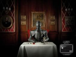 обои для рабочего стола 1600x1200 бренды, visa, рыцарь, бокал, роза