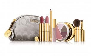 estee, lauder, бренды, косметичка, кисточка, блеск, карандаш, помада