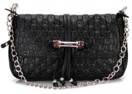 разное, сумки, кошельки, зонты, сумочка, цепочка, черный