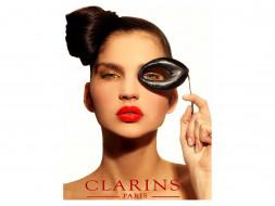clarins, бренды, макияж