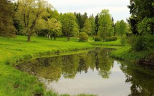 природа, реки, озера, лето, река