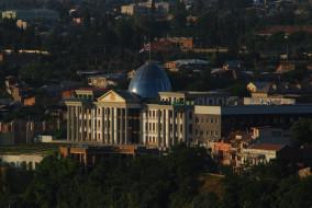 города, тбилиси, грузия, avlabari, presidential, palace, президентский, дворец, в, авлабари, tbilisi, georgia