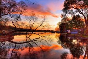 природа, реки, озера, пейзаж