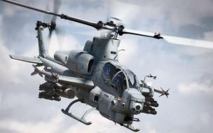 cobra, ah, 1w, авиация, вертолёты, вертолет