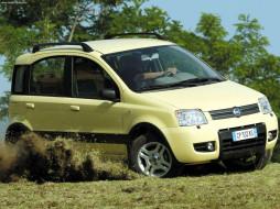 fiat, panda, 4x4, 2004, автомобили