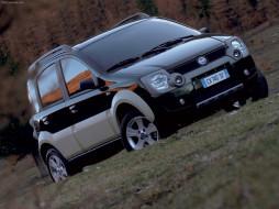 fiat, panda, cross, 2006, автомобили