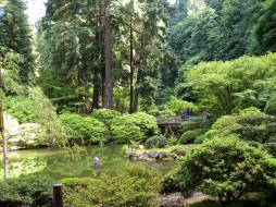 природа, парк, сша, gardens, portland, parks, oregon