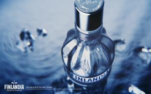 finlandia, бренды, водка, финляндия, бутылка