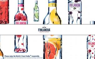 finlandia, бренды, финляндия, водка, бутылки