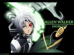 аниме, gray, man, walker, allen