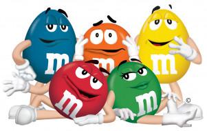 бренды, m&m, конфеты