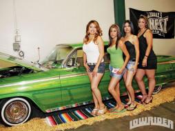 автомобили, авто, девушками, model