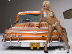 1962, chevrolet, impala, ss, автомобили, авто, девушками, model