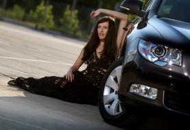 Автомобили авто девушками и девушки