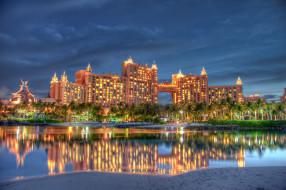nassau, bahamas, города, здания, дома, багамские, острова, atlantis