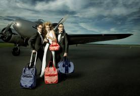 viktor, rolf, бренды, viktor&rolf, сумка, самолет, багаж