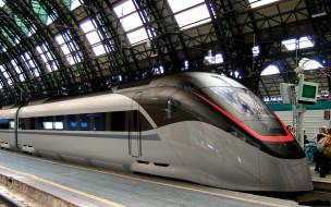 техника, поезда, вокзал, перрон, поезд