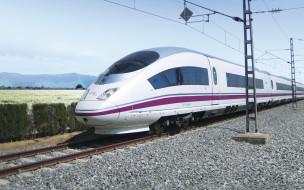 техника, поезда, экспресс, трасса, скоростная