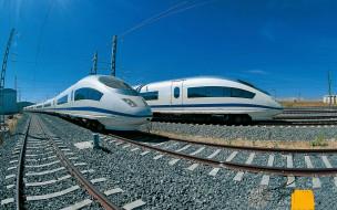 техника, поезда, железная, дорога, скоростные, экспрессы