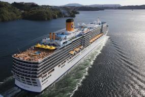 обои для рабочего стола 3300x2200 корабли, лайнеры, вода, круиз