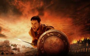 Гладиатор обои для рабочего стола 1680x1050 гладиатор, кино, фильмы, gladiator, рассел, кроу, максимус