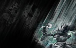 аниме, fullmetal, alchemist, драка, мальчик, робот