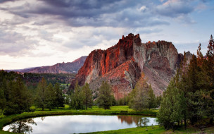 обои для рабочего стола 1920x1200 природа, реки, озера, деревья, озеро, горы
