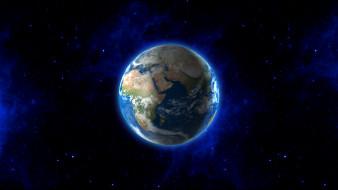 The Earth обои для рабочего стола 1920x1080 the, earth, космос, земля, планета, голубая