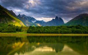 обои для рабочего стола 2560x1600 природа, реки, озера, река, горы, пейзаж