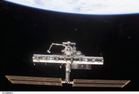 обои для рабочего стола 3032x2064 космос, космические, корабли, станции, мкс, мир