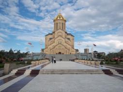 города, тбилиси, грузия, храм