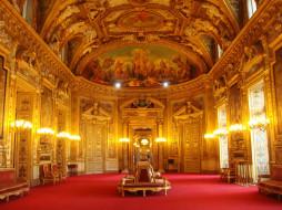 интерьер, дворцы, музеи, роспись, зал, георгины