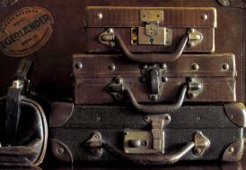 разное, сумки, кошельки, зонты, чемоданы, старые