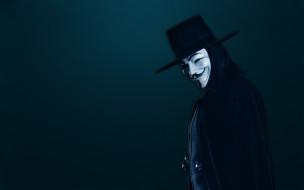 V значит Вендетта обои для рабочего стола 1920x1200 значит, вендетта, кино, фильмы, for, vendetta, маска, v