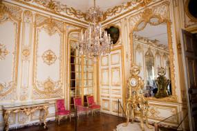 Версаль обои для рабочего стола 3000x2000 версаль, интерьер, дворцы, музеи, зеркало, часы, позолота, стулья, люстра