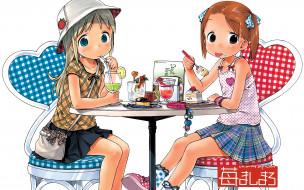 аниме, ichigo, mashimaro, девушки
