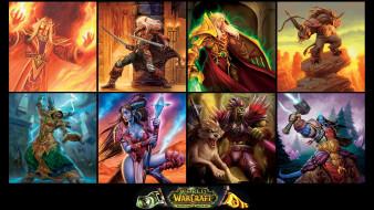 видео, коллаж, World Of Warcraft