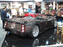 pagani, zonda, c12, roadster, автомобили
