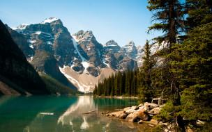 Канада долина десяти пиков moraine lake