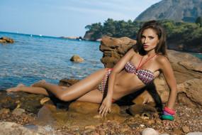 Camila Morais, девушки, , , браслеты, купальник, камни