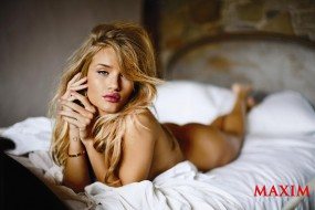 rosie, huntington, whitely, бренды, maxim, huntington-whitely, взгляд, красивая